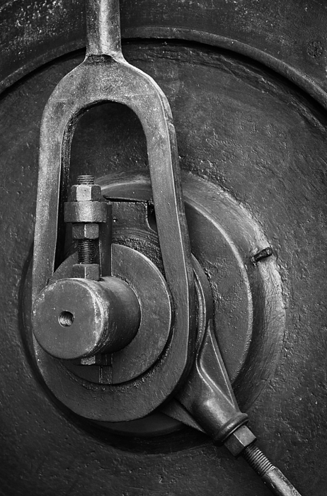Abandoned Photograph - Industrial Detail by Carlos Caetano