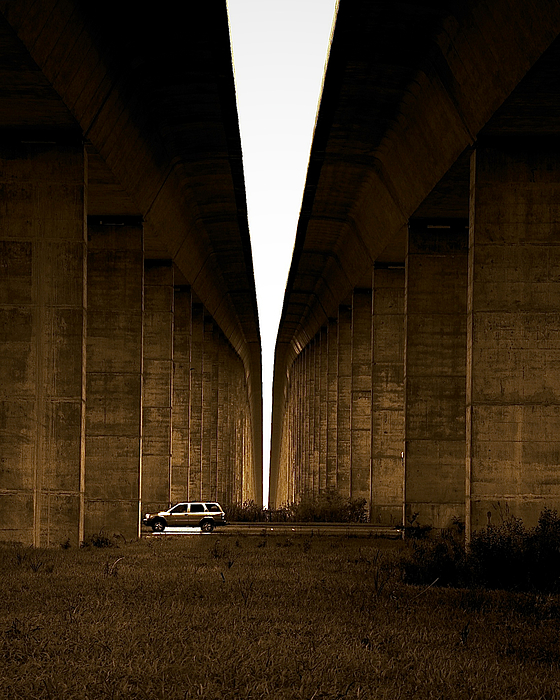 Sepia Photograph - Into The Light by Patrick Biestman