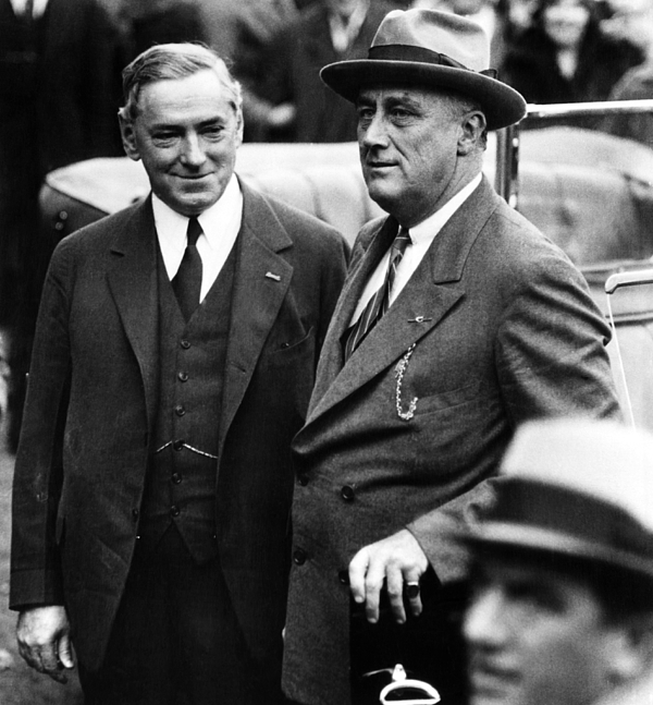 1930s Candid Photograph - James Michael Curley, Mayor Of Boston by Everett
