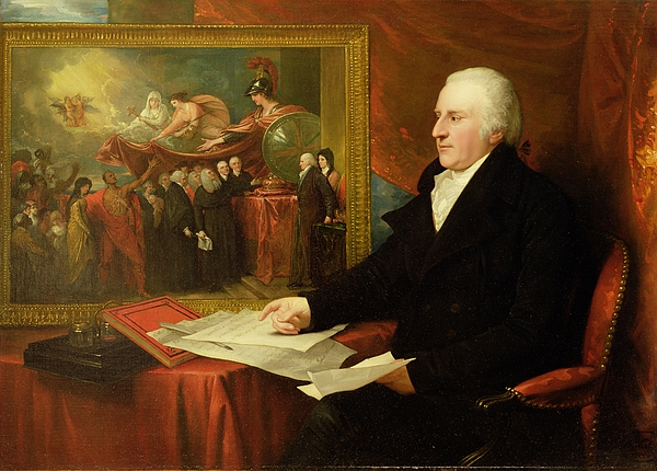 John Painting - John Eardley Wilmot  by Benjamin West