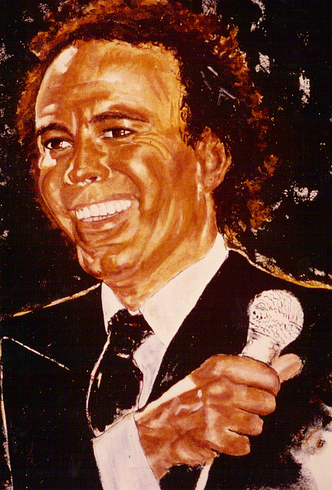 Julio Iglesias Print by Shaktima Brien
