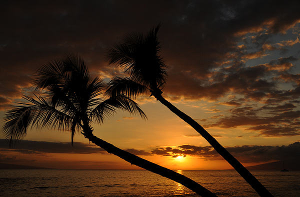 Kaanapali Beach Sunset Photograph