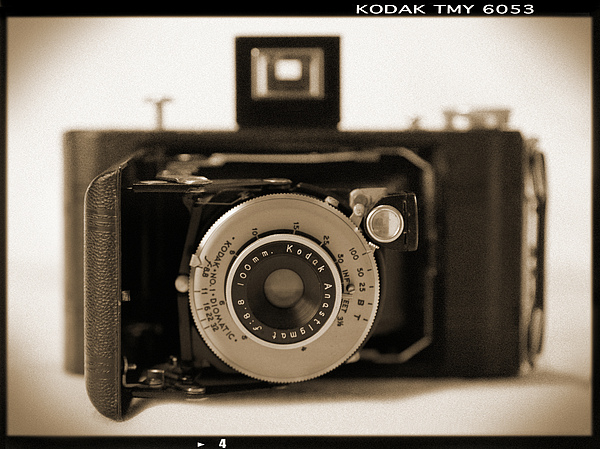 Vintage Kodak Camera Photograph - Kodak Diomatic by Mike McGlothlen