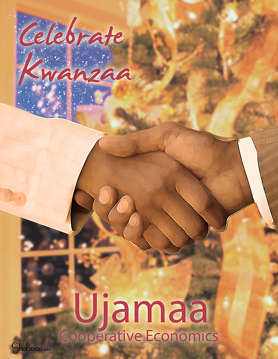 Kwanzaa Ujamaa Digital Art