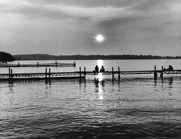 Evening Photograph - Lake Mendota In Madison by Arvind Garg