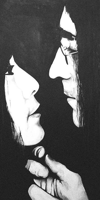 Lennon And Yoko Painting