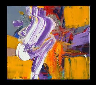 Abstract Painting Painting - Look At Me by Rosa Pereira