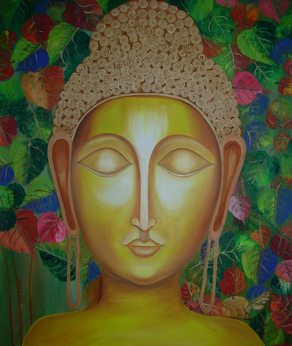 Gautam Buddha Paintings