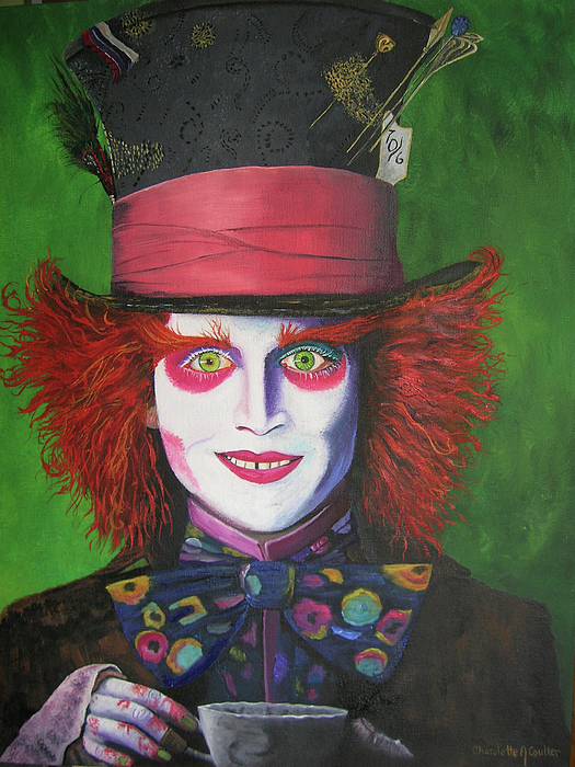 Mad Hatter Johnny D Painting