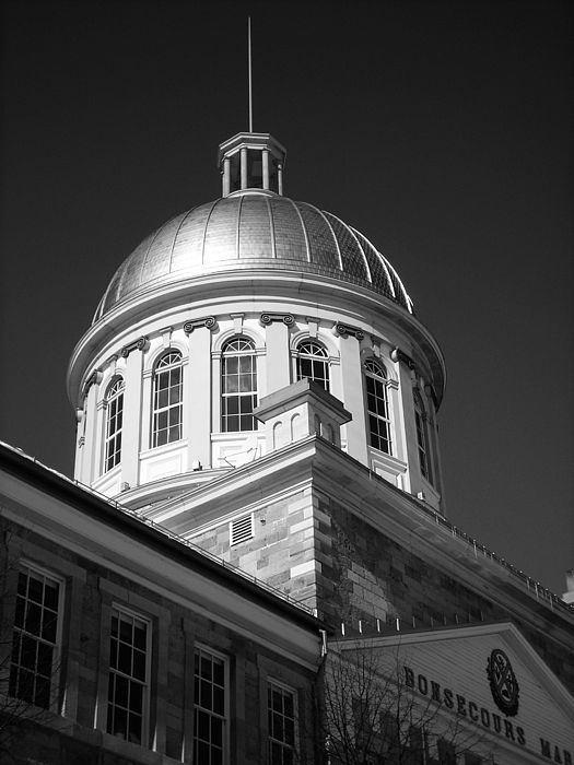 North America Photograph - Marche Bonsecours  by Juergen Weiss