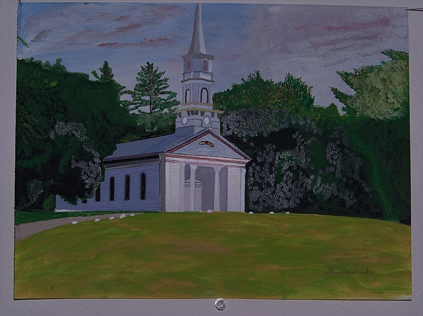 Martha Mary Chapel Painting - Martha Mary Chapel by William Demboski