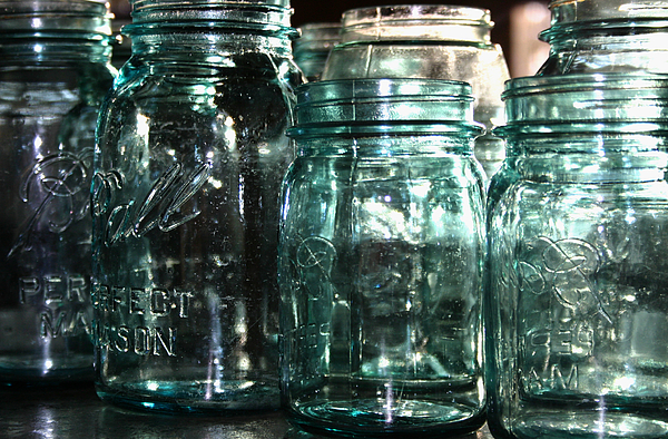 Ball Mason Jars Photograph - Mason by Meaghan Jacklitch