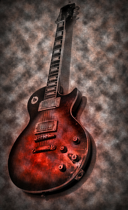Me And My Les Paul Photograph