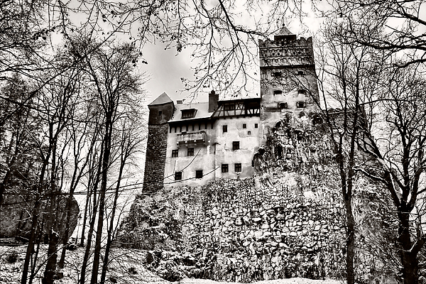 Architecture Photograph - Medieval by Gabriela Insuratelu
