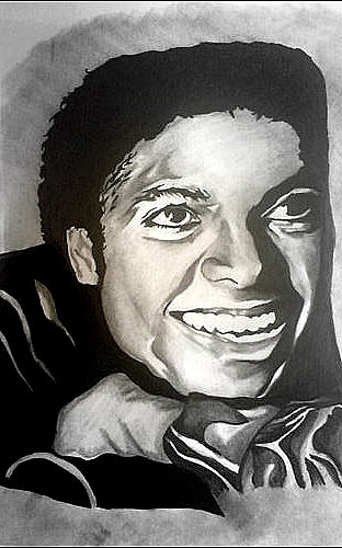 Michael Jackson Drawing - Michael Jackson by Pauline Murphy