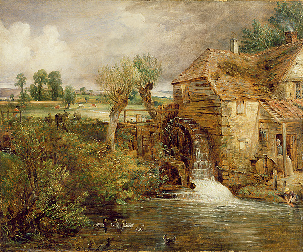 Xyc111902 Photograph - Mill At Gillingham - Dorset by John Constable
