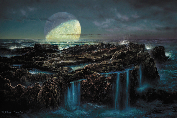 Moonrise 4 Billion Bce Painting