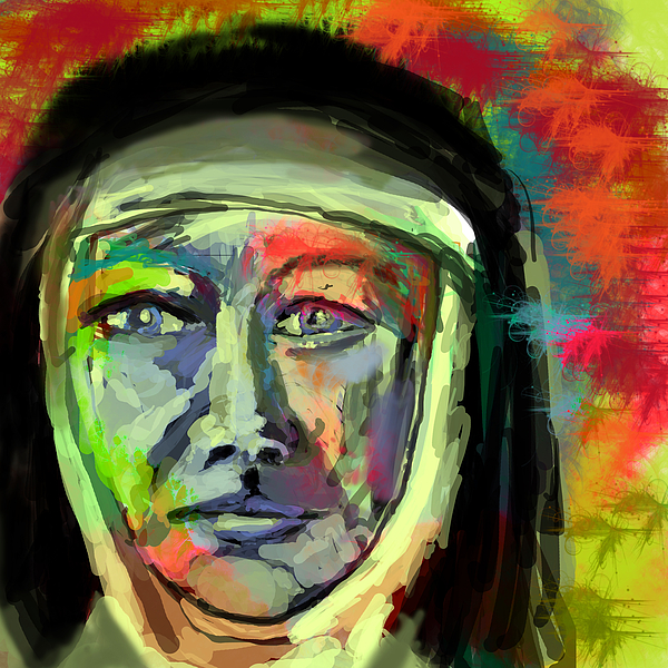 Mother Digital Art - Mother Mary Mackillop by James Thomas