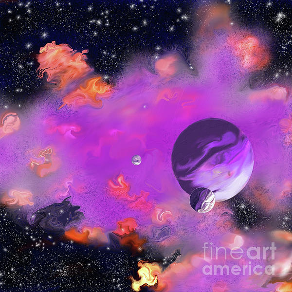 My Space Digital Art - My Space by Methune Hively
