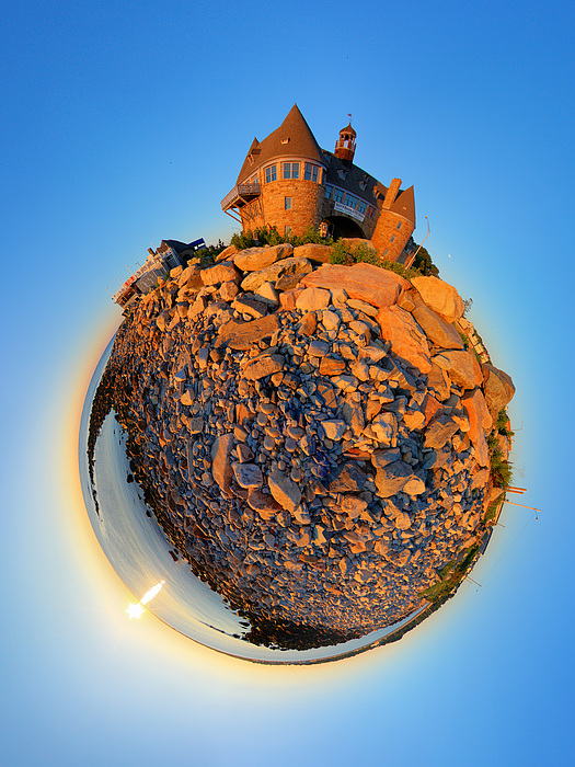 Narraganset Towers 2- Planet Photograph