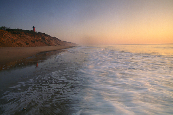 Outdoors Photograph - Nauset Light On The Shoreline Of Nauset by Michael Melford