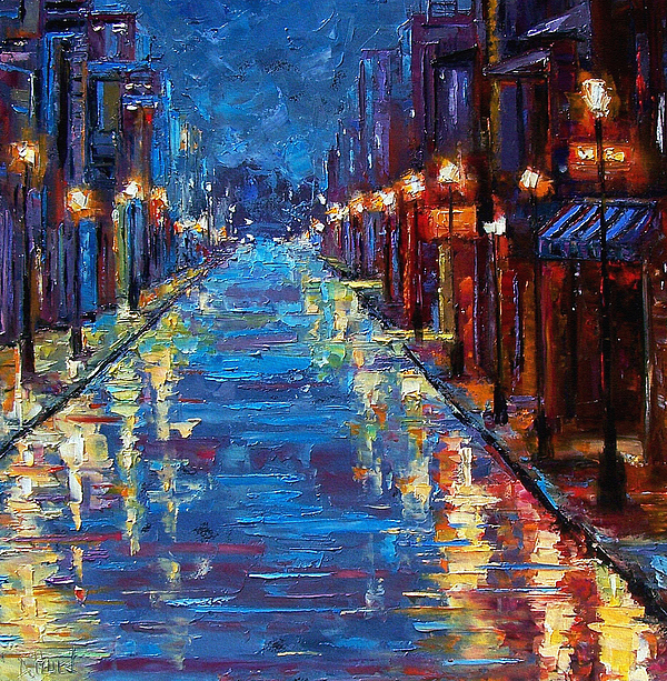New Orleans Bourbon Street Painting