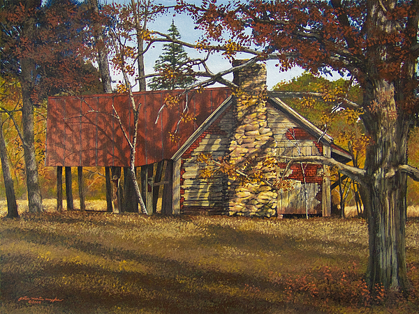 Nolan Corners Farmhouse Painting