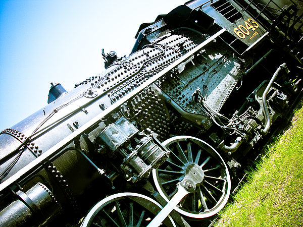 Old Locomotive Photograph - Old Locomotive 01 by Michael Knight