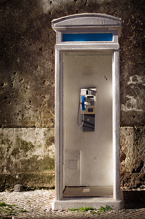 Old Phonebooth Photograph