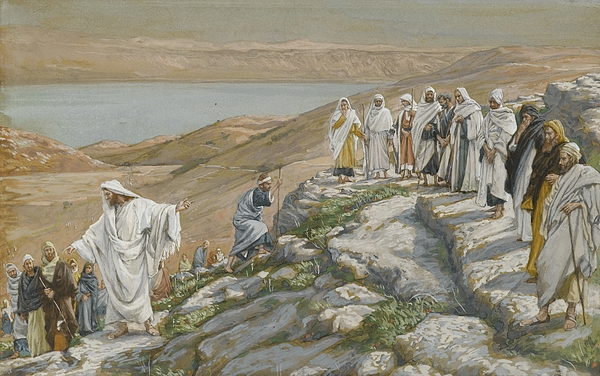Tissot Painting - Ordaining Of The Twelve Apostles by Tissot