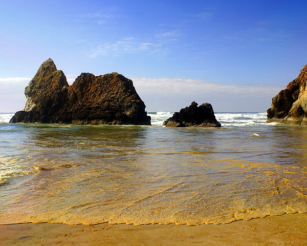 Ocean Photograph - Oregon Coast 9 by Marty Koch