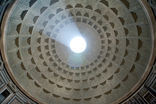 Pantheon Cupola Photograph