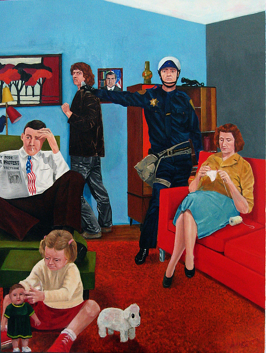 Parenting In The Sixties Painting