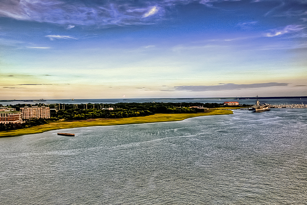 Aircraft Carrier Photograph - Patriots Point  by Drew Castelhano