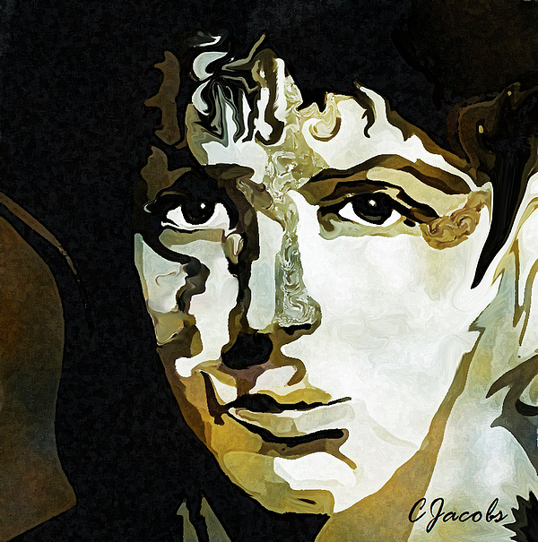 paul mccartney pop art painting by carole jacobs. Black Bedroom Furniture Sets. Home Design Ideas