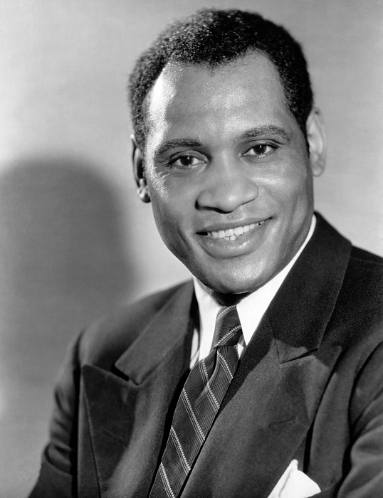 Paul Robeson, Ca. 1930s Photograph