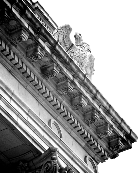 Architecture Photograph - Perch Bw by Slade Roberts