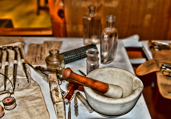 Pharmacist - Mortar And Pestle Photograph
