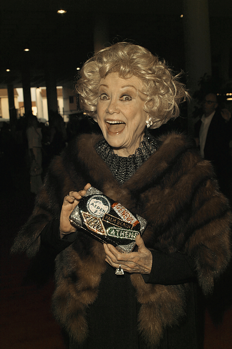 Gala Photograph - Phyllis Diller by Nina Prommer