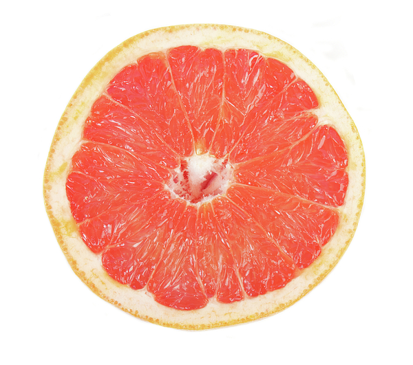 Pink Grapefruit Print by James BO  Insogna