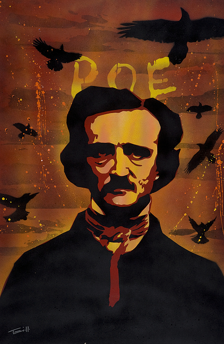 Poe Painting