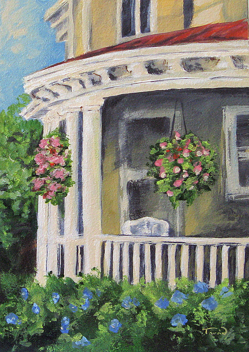Porch Painting - Porch by Torrie Smiley