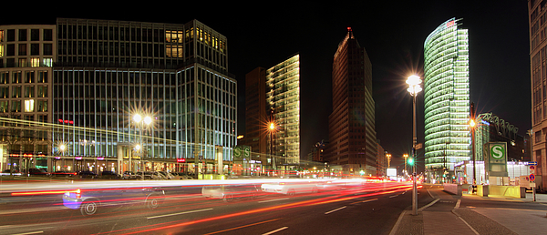 Berlin Photograph - Potsdamer Place by Marc Huebner