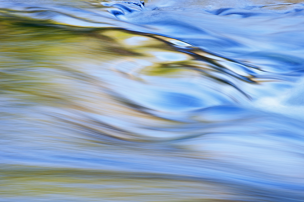 Abstract Photograph - Presque Isle River Rapids by Dean Pennala