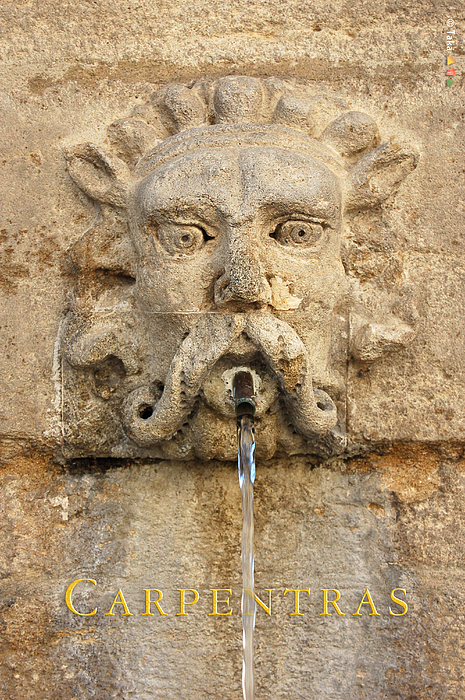 Photos Photograph - Provence Fountain 2 Carpentras by Philippe Taka