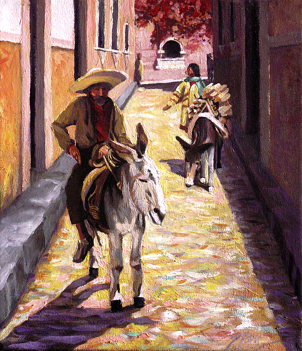 Nancy Griswold - Pulling up the Rear in Mexico