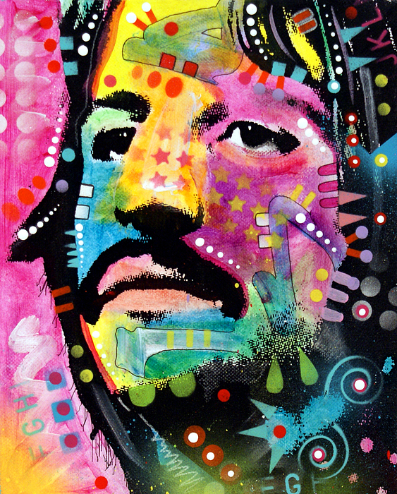 Ringo Painting - Ringo Starr by Dean Russo