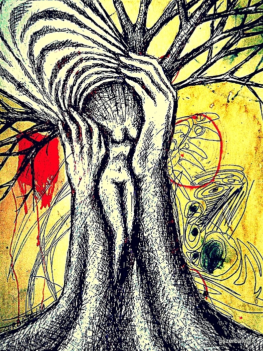 Roots Of Life Digital Art - Roots Of Life by Paulo Zerbato