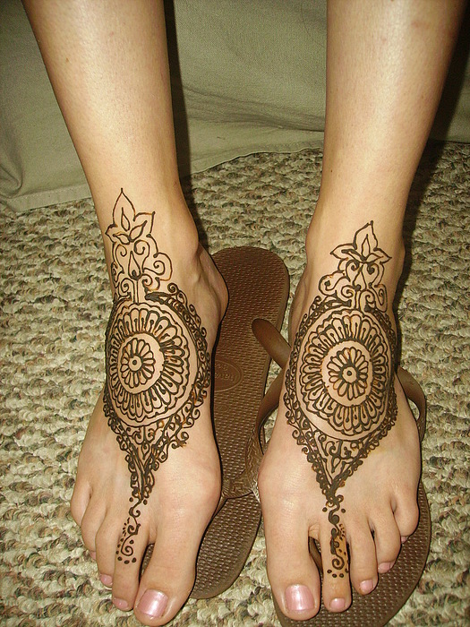 Henna Tattoos Ogden Utah Drawing - Russins Wedding Mehndi by Henna Tattoos Ogden Utah