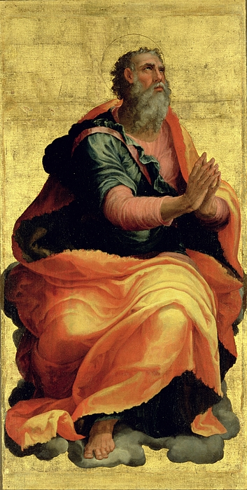 Saint Painting - Saint Paul The Apostle by Marco Pino